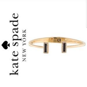 NWT Kate spade raise the bar bracelet gold tone